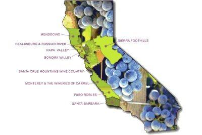 Виноделие США